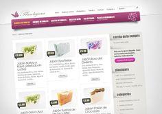 Diseño web de tienda on-line de plantas medicinales. http://www.plantajara.es