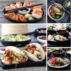 TI FAVORITTER TIL HELGEN   TRINES MATBLOGG Moussaka, Sushi, Nom Nom, Tacos, Ethnic Recipes, Food, Noodle Soup, Noodle Salads, Essen