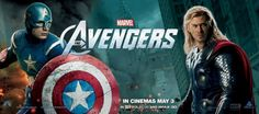 here's some new Avengers character banners we all love so much!