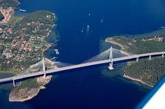 Uddevalla bridge. Bohusian. Sweden