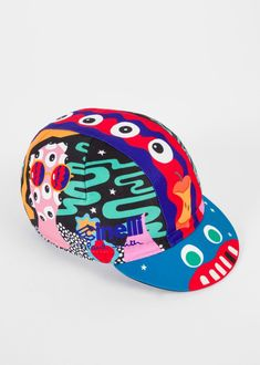 In the first collaboration between Paul Smith and renowned Italian bicycle manufacturing company, Cinelli, the two companies combine their shared passion for design and the use of bold colour and print to present a series of colourful cycling caps, crafted in Italy to the highest standards.