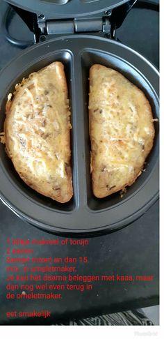 Visbroodje omeletmaker