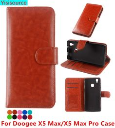 Yisisource Case for Doogee X5 Max PU Leather Case Wallet Flip Cover Case for Doogee X5 Max Cover with Phone Holder Card Slots