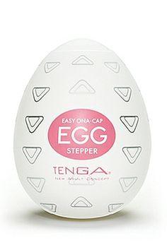 Tenga Egg Stepper : un masturbateur pour se faire du bien en solo ou accompagné