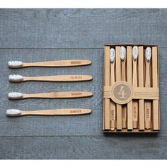 Izola Guest Wooden Toothbrush Set design by Izola 3d Models, Burke Decor, Guest Bath, Just In Case, Packaging Design, Home Accessories, Bathroom Accessories, Cool Stuff, Stuff To Buy