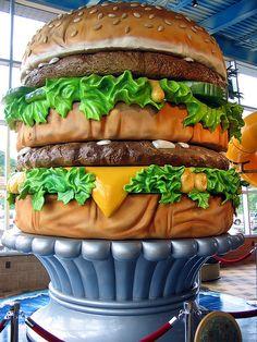 World's Largest Big Mac, Big Mac Museum, North Huntingdon, Pennsylvania