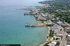 bird's eye view of st. ignace