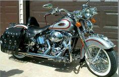 Motos Harley Davidson, Classic Harley Davidson, Custom Motorcycles, Custom Bikes, Harley Softail, Motorcycle Design, Dream Machine, Classic Bikes, Bobbers