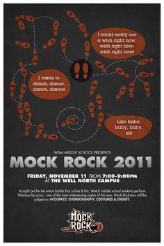 Mock Rock 2011 promo poster