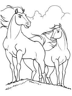 cavalo+SPIRIT+colorir - Pesquisa do Google