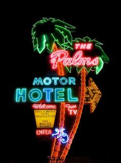 Used to live not far from here, always liked the old neon sign