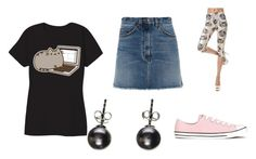"""Mala"" by ohwhatshername on Polyvore featuring Marc by Marc Jacobs and Converse"