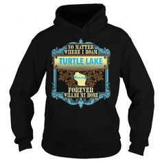 Cool Turtle Lake in Wisconsin Shirts & Tees
