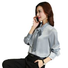 2017 Spring Lacing Women's Blouse Fashion Slim Especially Female Shirts High-grade Lace Pure Color Linen Silk Summer Top Women #Affiliate