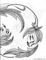 """Gallery.ru / Vladikana - Альбом """"Шикарные трафареты ришелье"""""""