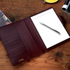 Stationary Notebook by Antorini. Leather Notepad, Leather Notebook, Mens Designer Accessories, Fashion Accessories, Stationary Notebook, Pocket Diary, Latest Mens Fashion, Men's Fashion, Journal Notebook