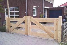 Bilderesultater for tuinhek Driveway Gate, Fence Gate, Farm Gate, Electric Gates, Backyard, Patio, Entrance Gates, Garden Gates, Curb Appeal