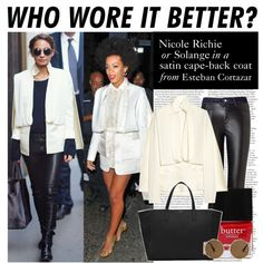 """Who Wore It Better: Nicole Richie or Solange"" by polyvore-editorial on Polyvore"