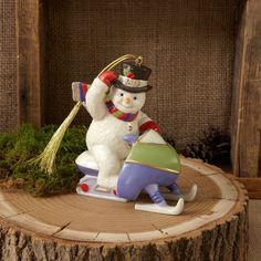 Lenox '2013 Snowmobling Snowman' Ornament * Be sure to check out this awesome product. (This is an affiliate link) #EasyHomeDecor