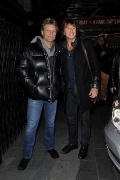 Jon Bon Jovi Photos: Bon Jovi Band Members Out in London