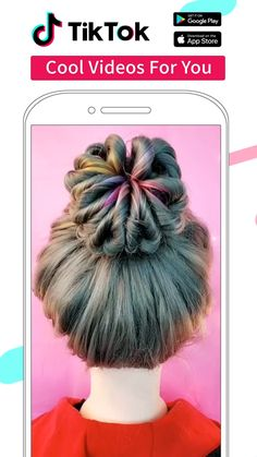 Watch cool videos created by creators worldwide - la . - Haar ideen - HoMe Little Girl Hairstyles, Cute Hairstyles, Braided Hairstyles, Short Girl Hairstyles, Popular Hairstyles, Hairdos, Updos, Cabelo Ombre Hair, Braids Tutorial Easy