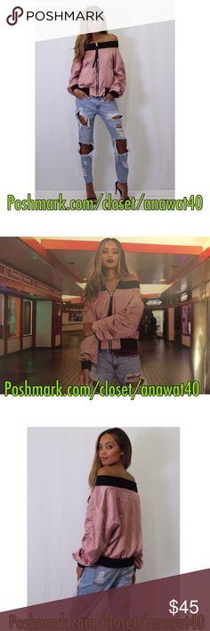 Spotted while shopping on Poshmark: Interstellar Off Shoulder Bomber Jacket! #poshmark #fashion #shopping #style #Alpha Omega #Jackets & Blazers