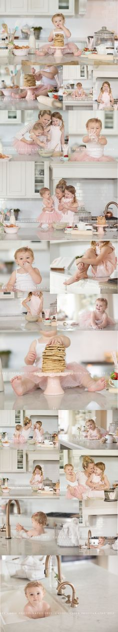 Idea for an in-home lifestyle photography session - baking pancakes!