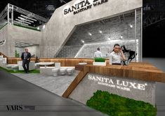 Concept of Sanita Luxe exhibition project 2017