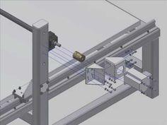 CNC Assembly Animation