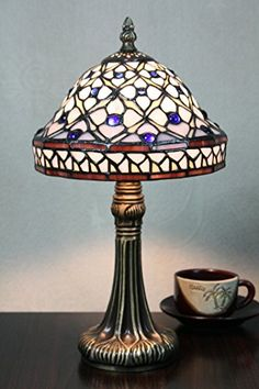 Gweat Tiffany 8-Inch Pastoral Stained Glass Tiffany Colored Bead Table Lamp Bedroom Lamp Bedside Lamp Tiffany & Co. http://www.amazon.com/gp/product/B012IA2Y9E/ref=as_li_qf_sp_asin_il_tl?ie=UTF8&camp=1789&creative=9325&creativeASIN=B012IA2Y9E&linkCode=as2&tag=divinetreas03-20&linkId=3EKRE77I4YVEQOZF