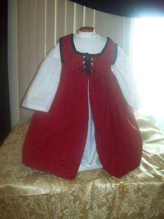I think I found little girl's Ren Fest costume! Thanks, MladysCoutorier!