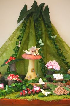 Whimsical ENCHANTED FOREST BIRTHDAY PARTY by Le Petit Party