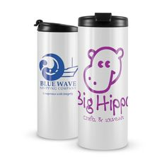 Capri Thermal Mug - Superior quality 350ml double wall thermal mug with stainless steel inner and outer walls. Has a secure screw on lid with a locking flip top opening that will not leak. The ergonomic round design is ideal for wrap around branding including stunning full colour.