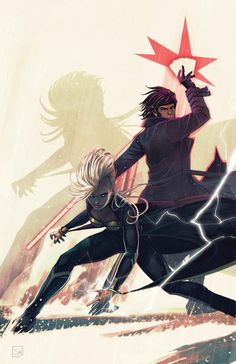 ucarim:  STORM #9GREG PAK (w)AL BARRIONUEVO (A)Cover by STEPHANIE HANS•____©___!!!! Guest-starring GAMBIT!• When everybody's favorite Cajun gets in over his head, it's up to Storm to bail him out!• But while Storm is remembering how to pick locks, a figure from her past prepares to strike…32 PGS./Rated T+ …$3.99