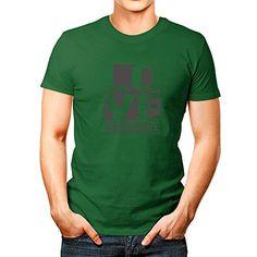 Idakoos-LOVE-Foosball-Sports-T-Shirt