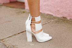 Alexander Wang White Mckenzie Boots