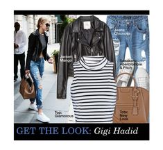 """Get The Look: Gig Hadid"" by tracey-mason ❤ liked on Polyvore featuring Chicnova Fashion, Abercrombie & Fitch and Glamorous"