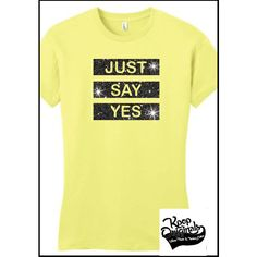 """BTS """"Just Say Yes"""" Jin on stage tee perfect for Kcon and School! In... (270 MXN) ❤ liked on Polyvore featuring tops, t-shirts, summer tops, plus size t shirts, rose t shirt, pink plus size tops and womens plus size t shirts"""