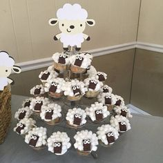 Lamb Baby Shower Decorations Sheep Baby by LittleBitsHomemade More