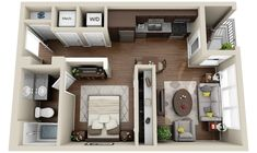 2_Apartments and Condos « 3Dplans.com