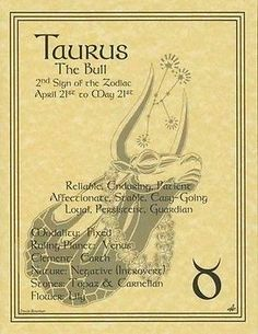 Taurus Zodiac Book of Shadows Wicca Celtic Druid Astrology Taurus, Zodiac Signs Taurus, Taurus And Gemini, Taurus Facts, My Zodiac Sign, Zodiac Facts, Celtic Astrology, Taurus Bull, Astrology Signs