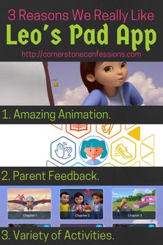 Leo's Pad Preschool App Review--Why We Think Leo's Pad Should Be On Every Preschool Mom's iPad