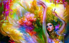 Pense e Sonhe. Viva!: Flor  Toda mulher é uma flor. As flores persistem Resistem ao frio que afasta a vida, Resistem aos duros golpes das tempestades, Ao calor que agride… Alma exposta em pétala, Delicadeza indomada que perfuma o mundo.