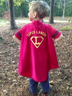 Customized/Personalized Kids Superhero Cape by EmeraldCoveDesigns, $30.00