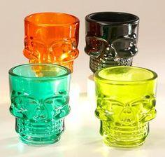 Product: 3452 Skull Shot Glass Set (4)