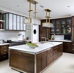 Brian Gluckstein Design - contemporary - kitchen - toronto - Brandon Barré Photography