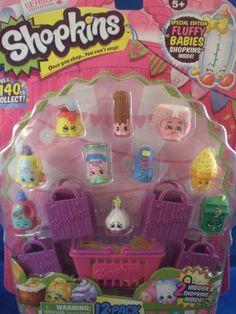 Shopkins Season 2 - 12 pack Special Edition Fluffy Baby 2 Hidden #MooseToys