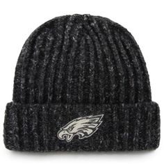 Men s  47 Brand Charcoal Philadelphia Eagles Westend Cuffed Knit Hat 54a4152d9