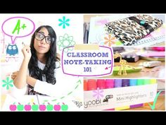 The BEST Classroom Note Taking Tips | #B2SwithParisandRoxy ✿ - YouTube
