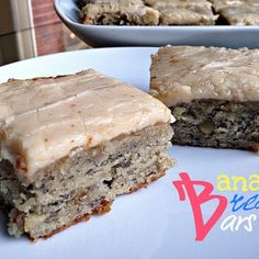 Banana Brownies with Browned Butter Frosting